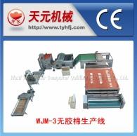 خط WJ-3 نوع إنتاج القطن البلاستيكية (التدفئة الكهربائية بدون دوران الهواء الساخن)